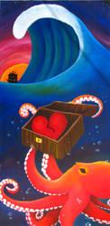 Octopus Heartthrob by shmaysh