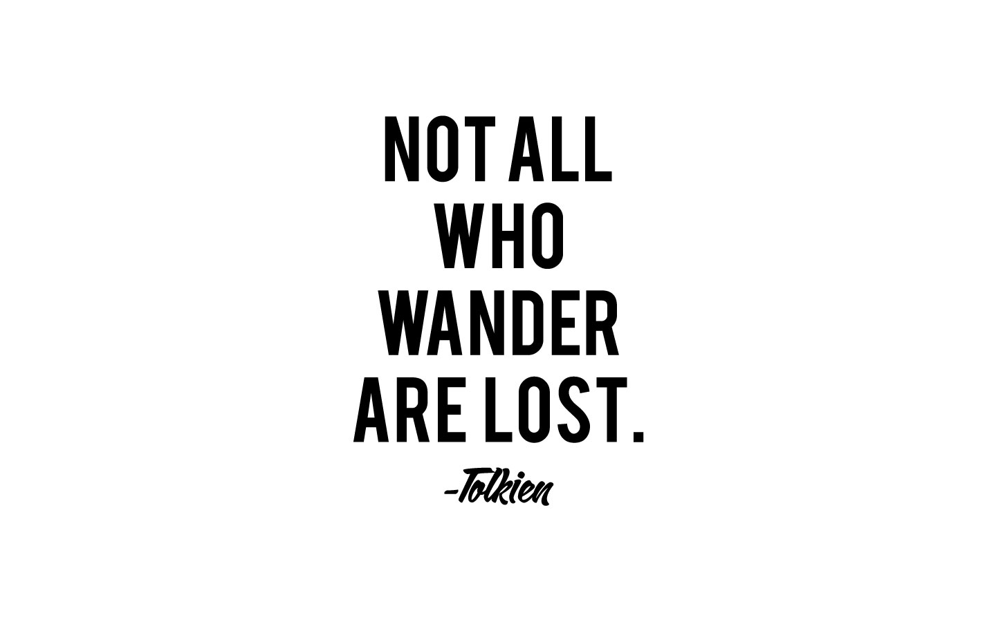 not all who wander are lost by bragadesigns on deviantart