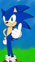 Sonic: The Hedgehog (Colored)