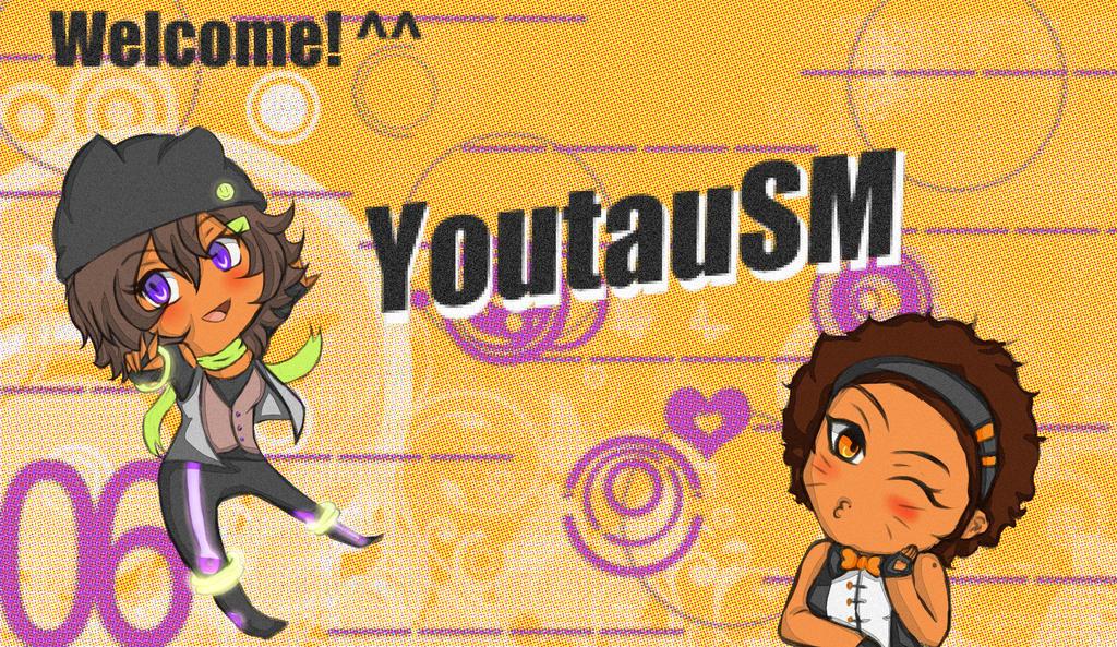 Welcome to YoutauMusicSM! + Speedpaint vid by ultravioletxoxo