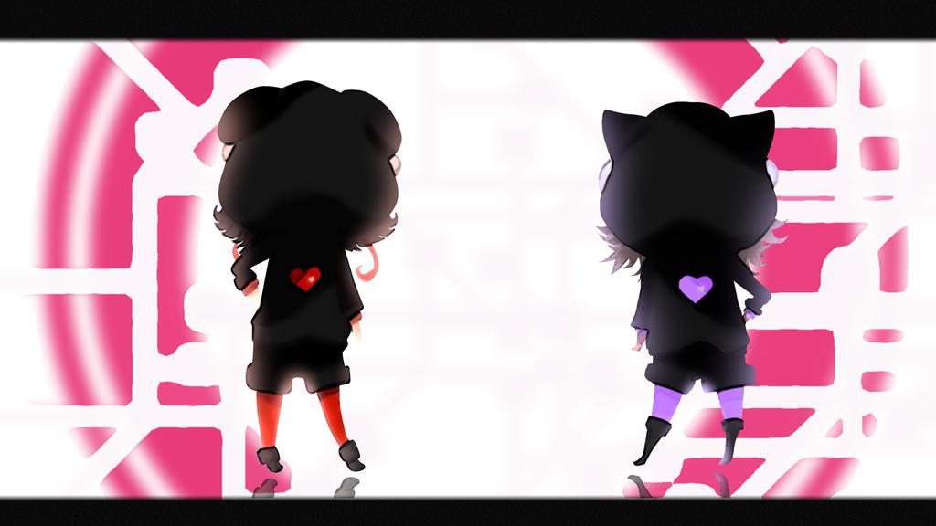 A female ninja but I want to love![KaiKai N Z0N1A] by ultravioletxoxo