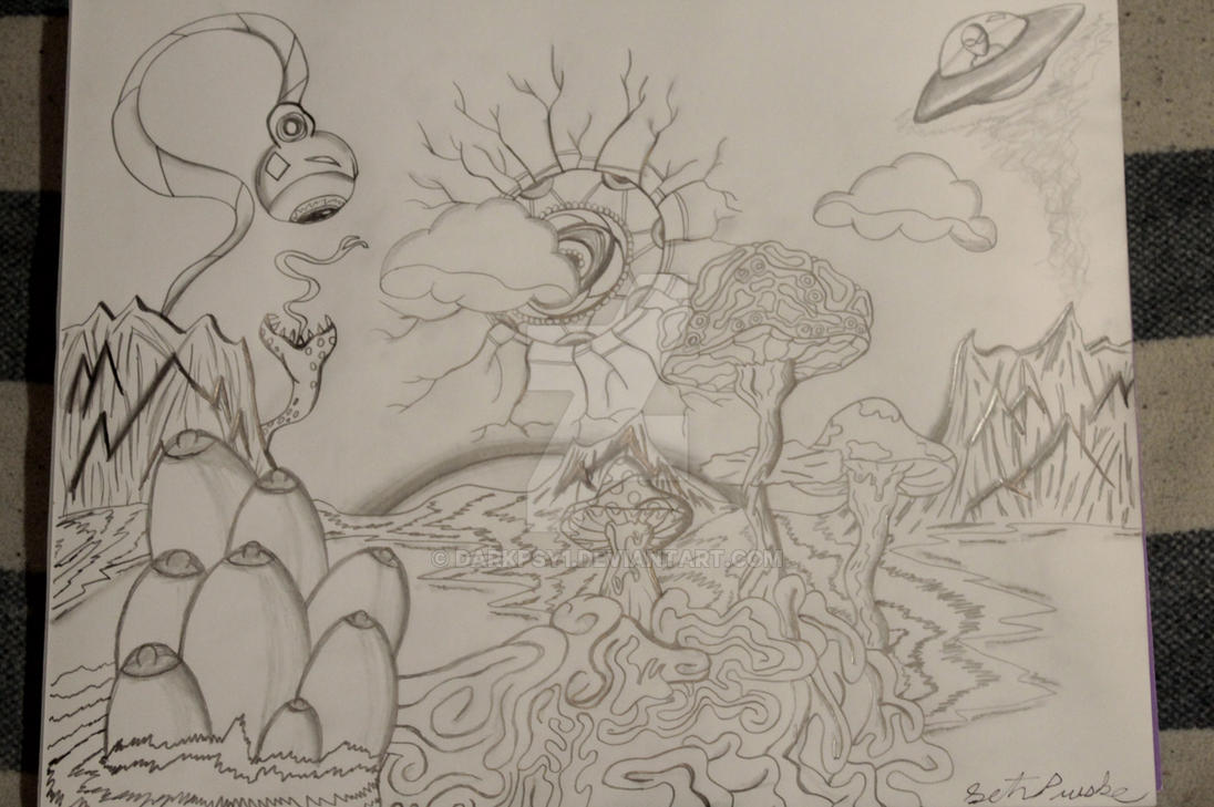 The Crazyland by darkpsy1
