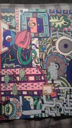 A Psychedelic New Year by darkpsy1