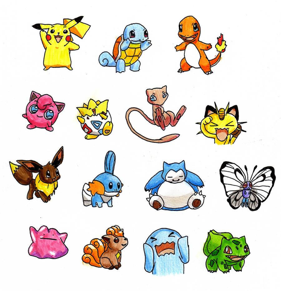 Pokemon  Gotta colourem all by Kawaiishi on DeviantArt