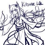 Goddess : Fire Kitsune -W.I.P-