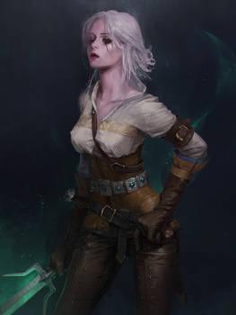 Witcher fan art  ciri