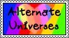Stamp - Alternate Universes by ChibiFox12