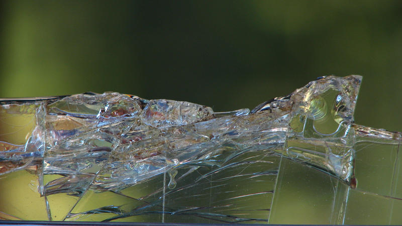 Broken Glass Edge by FoxStox