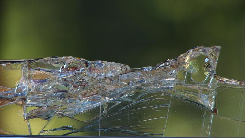 Broken Glass Edge by FoxStox