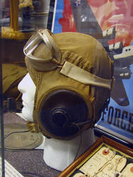 Aviator Goggle Cap, Side View by FoxStox