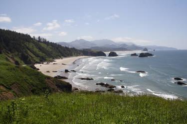 Ecola Ocean Trail 2 by FoxStox