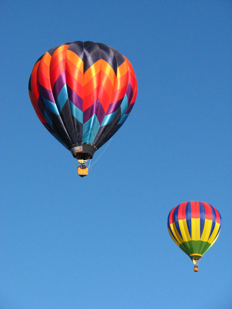 Hot Air Balloons III by FoxStox
