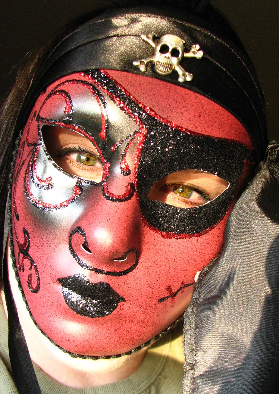 Pirate Mask by FoxStox