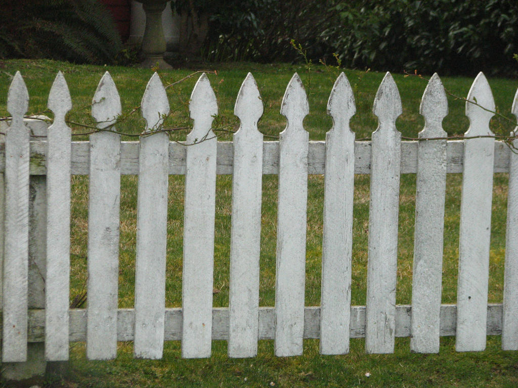 Old White Picket Fence by FoxStox on deviantART
