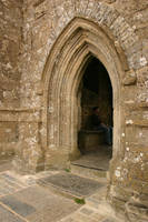 Glastonbury Tor Tower Doorway by FoxStox
