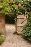 Chalice Well Garden Gate