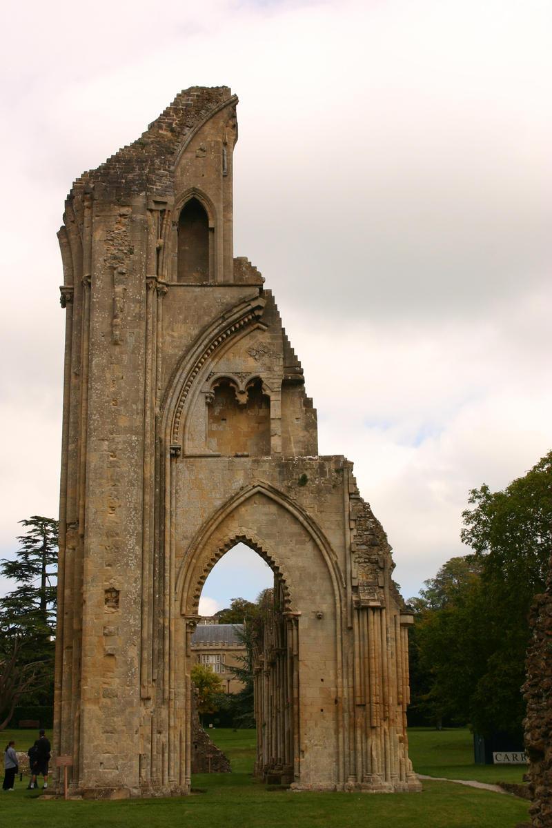 Glastonbury Abbey 7 by FoxStox