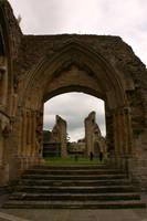 Glastonbury Abbey 12 by FoxStox