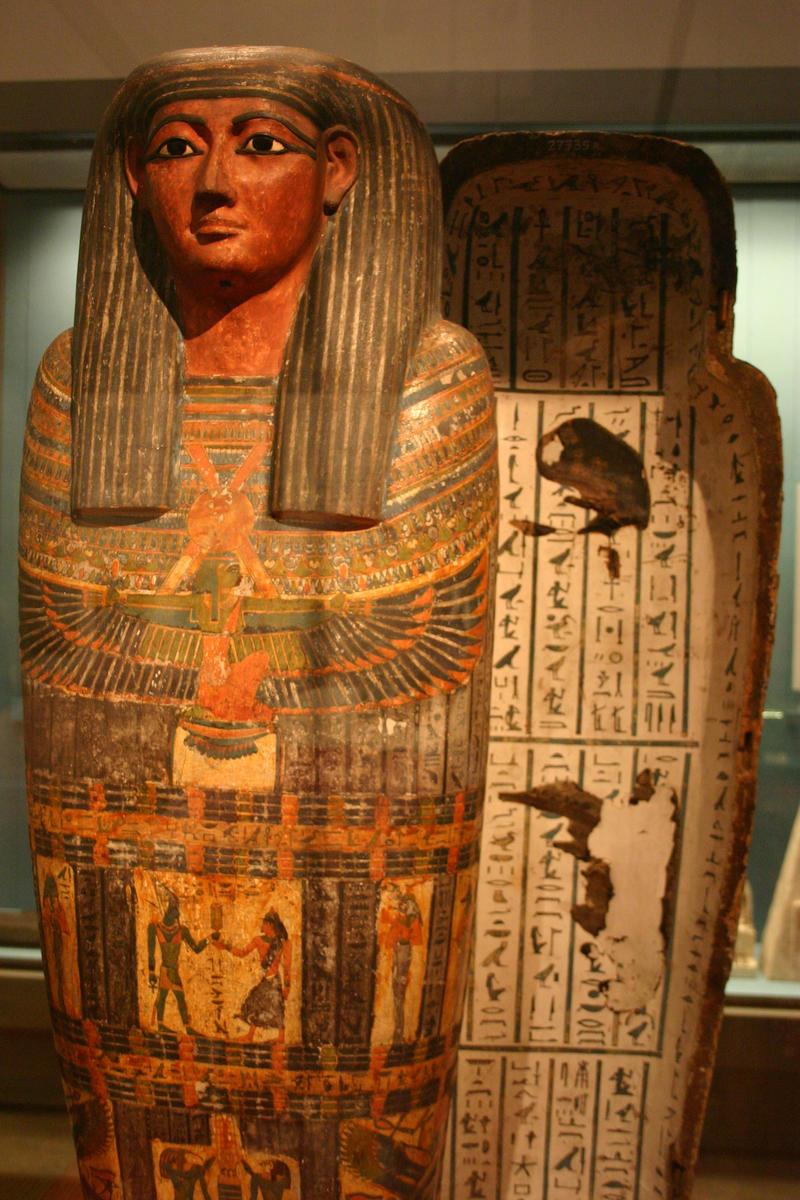 Sarcophagi in Ancient Egypt | Synonym
