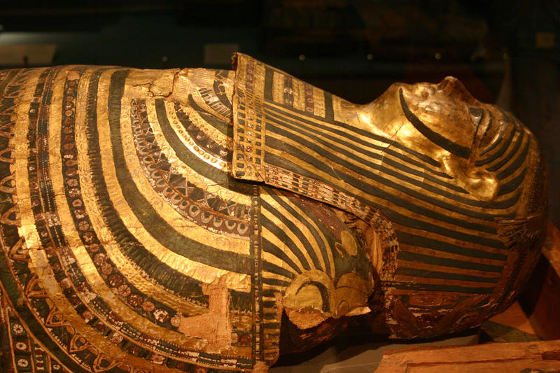 Egyptian Afterlife Ceremonies Sarcophagi Burial Masks
