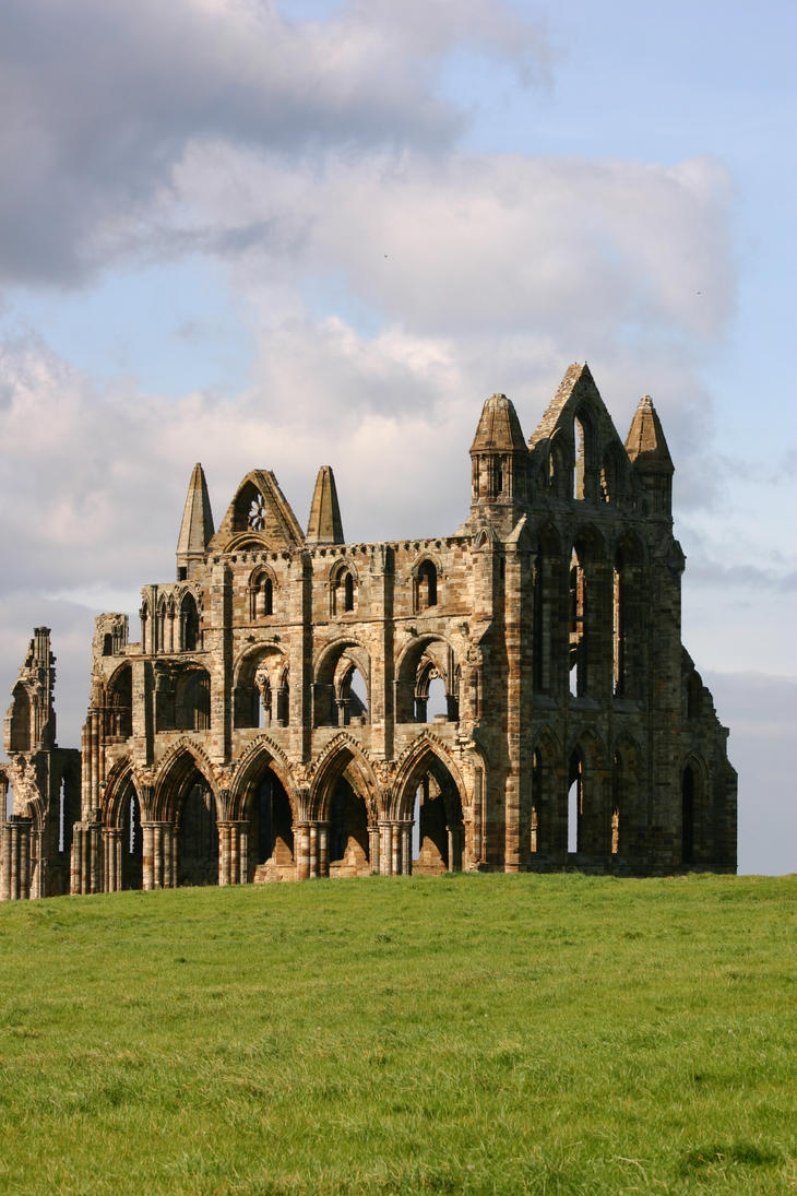 Whitby Abbey Ruins 5 by FoxStox