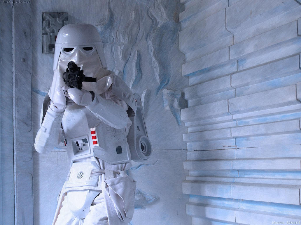 Snowtrooper by MarcoAlessi