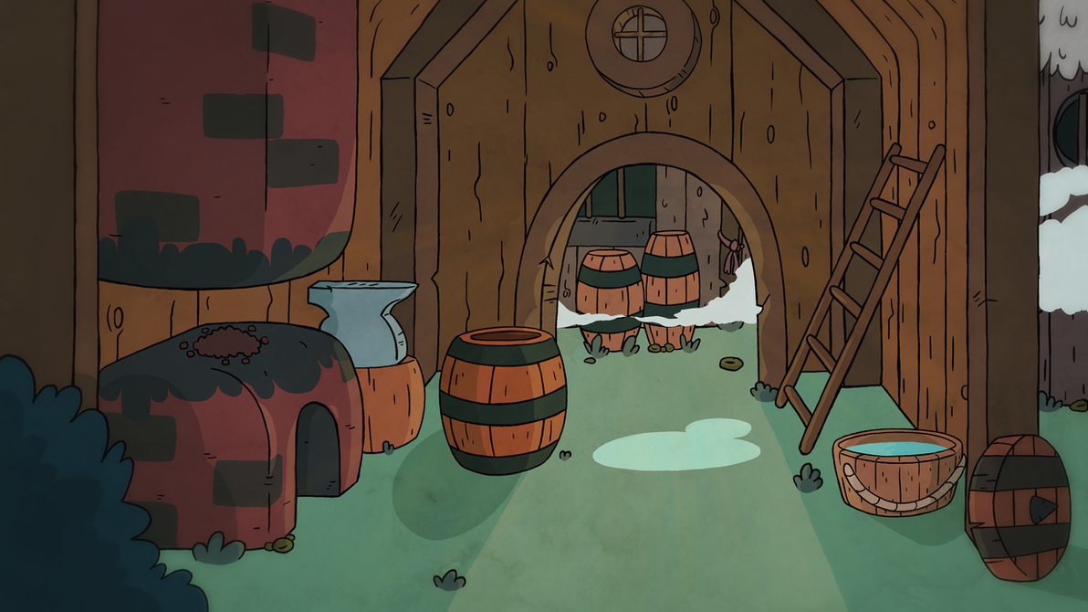 Blacksmith's House by Rather-Grim