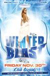 Winter Blast Party Flyer
