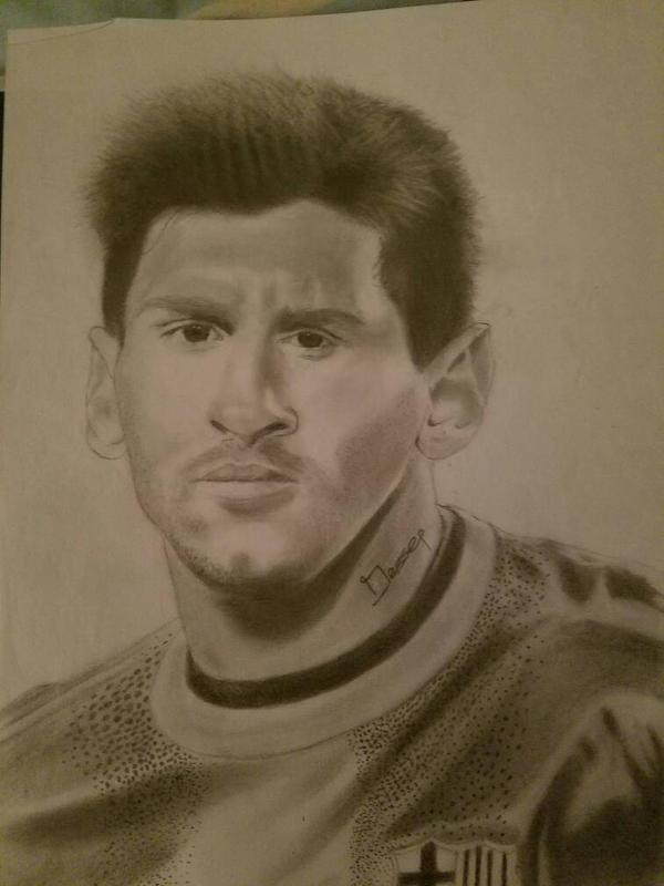 # Barcelona Leo Messi by jesseTodd67