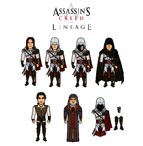 Assassin S Creed Lineage By Vandersonmetal On Deviantart