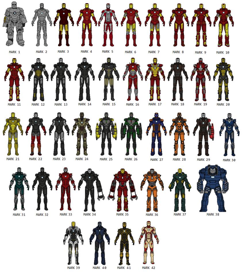 Um Excelente Pixel Artist Iron_man_42_armor_by_vandersonmetal-d7exfaa