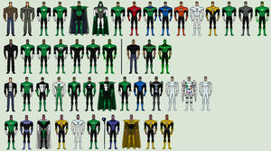 My Green Lantern Animated Universe
