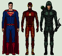 CW Heroes - That i made so far by vandersonmetal