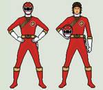 Red Ranger - Power Rangers Wild Force