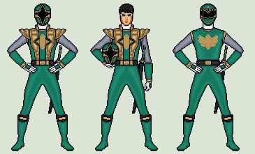 Power Ranger Ninja Storm Costume & Power Rangers Legacy