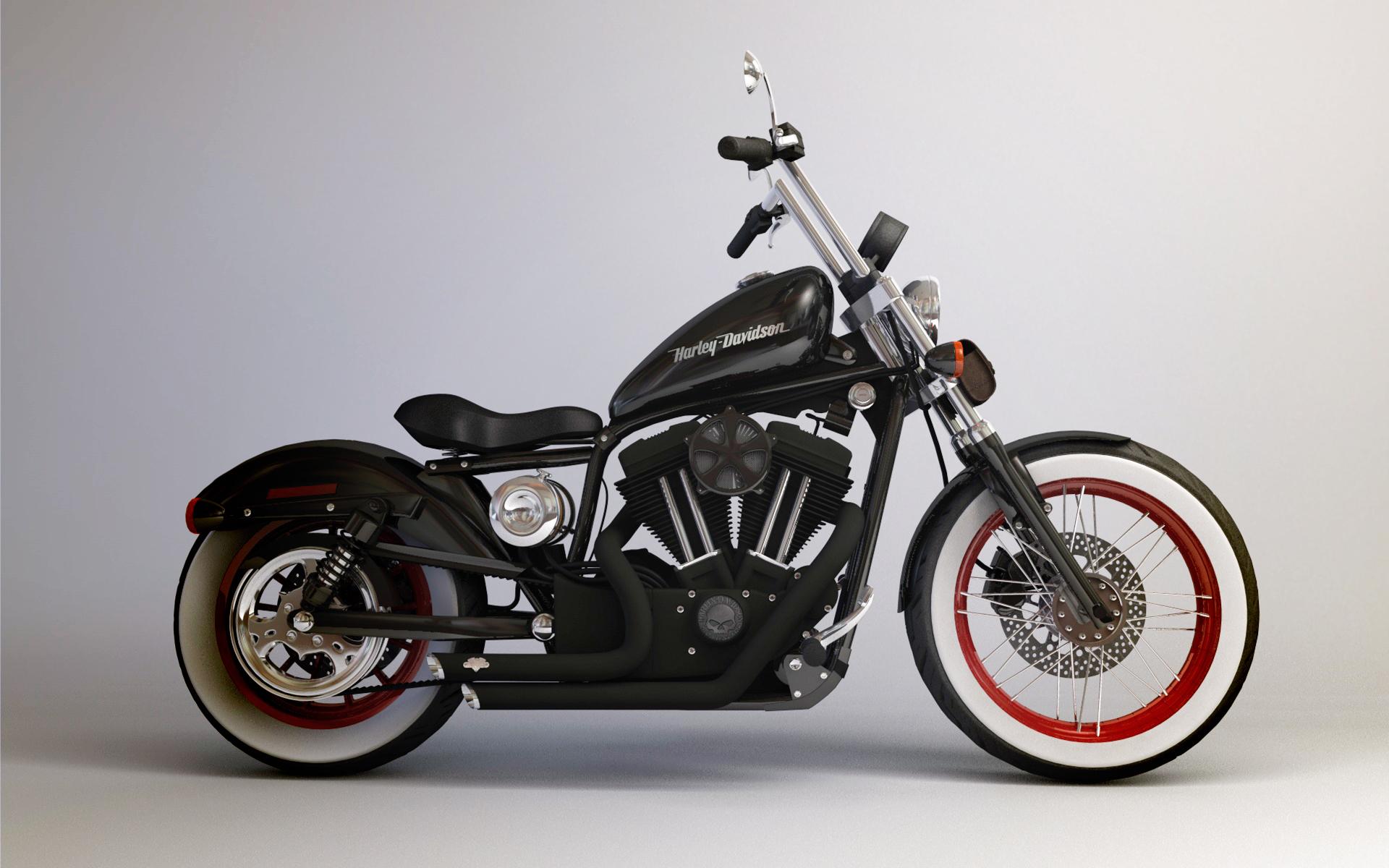Harley Davidson Iron Mit Ccm