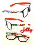 The Avengers Chibi Painted Glasses by PoppinCustomArt