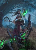 Necromancer by JefWu