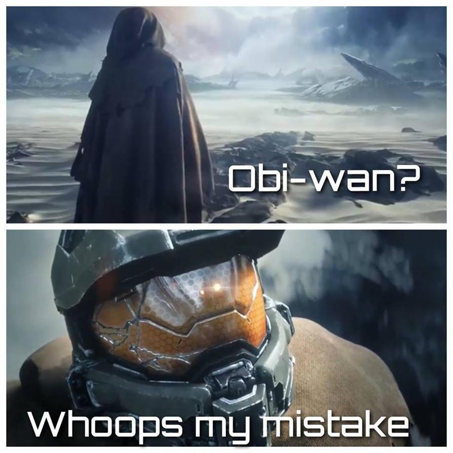 Star Wars/Halo Meme by Turbofurby