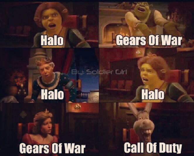 Halo, GoW, CoD Meme by Turbofurby on DeviantArt
