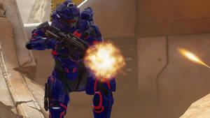 Blue in GEN 2 Armor by Turbofurby