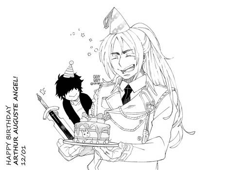 Happy Birthday Arthur!