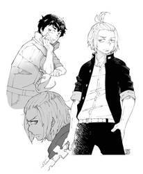 Shinra and Arthur
