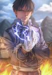 Roy Mustang _ fullmetal alchemist by Dragon--anime