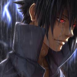 Sasuke _ Naruto Shippuden by Dragon--anime