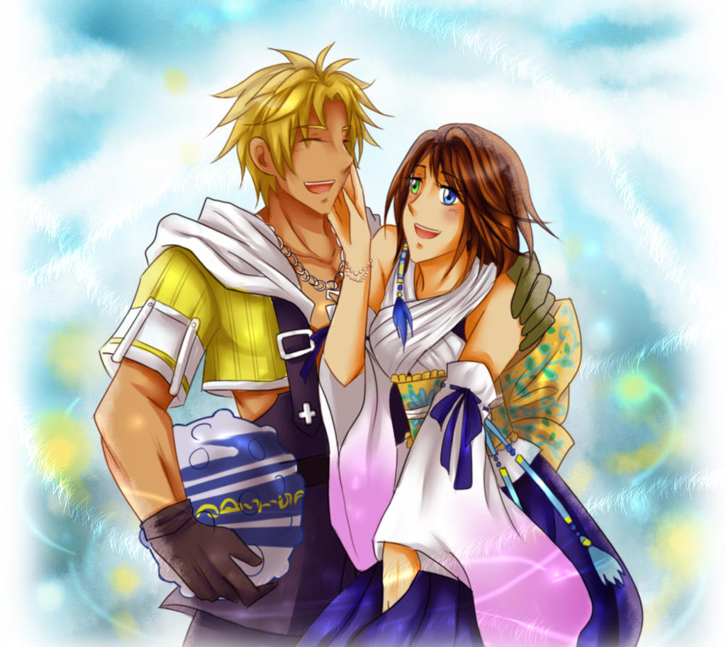 final fantasy x how to build tidus