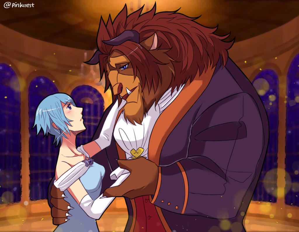 KH : Terraqua (Beauty and the Beast) by Pinkalala on ...
