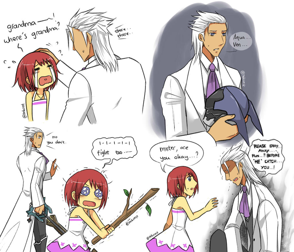 KH : more 'what if' lol by Pinkalala on DeviantArt Terra And Aqua Fanfiction