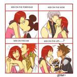 KH : Kairi kiss meme