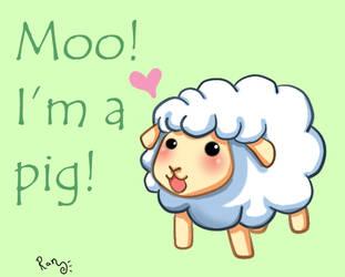 Silly Sheep by RanNiwa